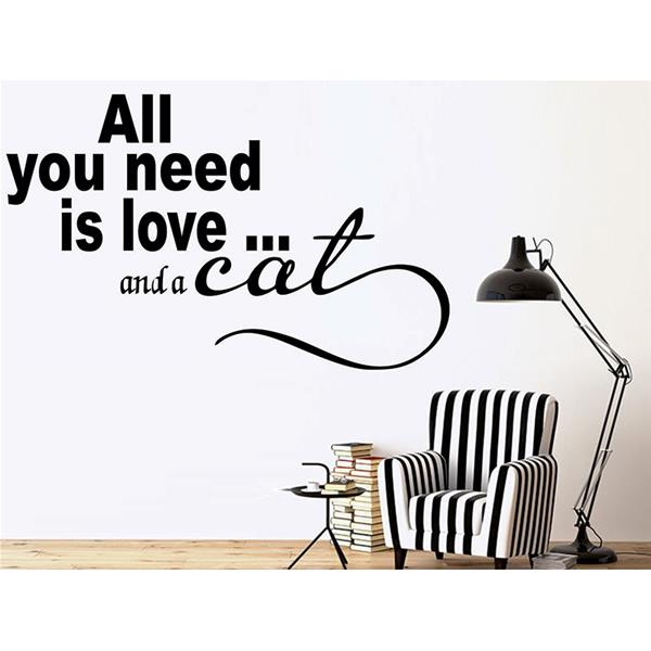 ALL YOU NEED İS LOVE AND A CAT 1424